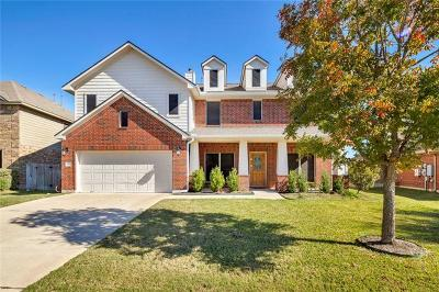 Pflugerville Single Family Home For Sale: 2801 Linville Ridge Ln