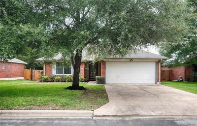 Leander Single Family Home For Sale: 508 Clear Spring Ln
