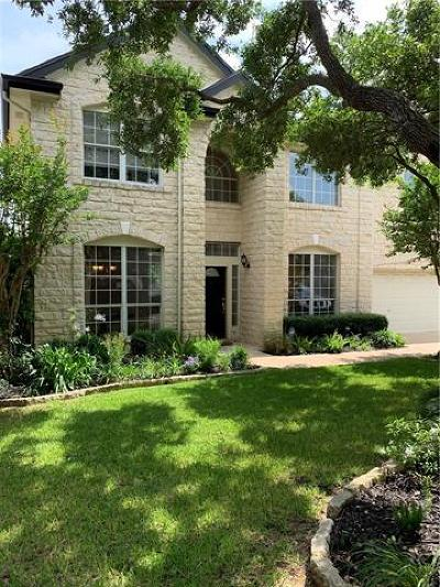 Hays County, Travis County, Williamson County Single Family Home For Sale: 5204 Crystal Water Dr