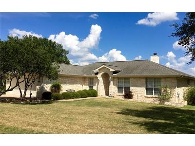 Lago Vista Single Family Home For Sale: 20515 Highland Lake Dr