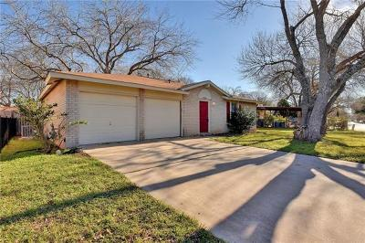 Hays County, Travis County, Williamson County Single Family Home Pending - Taking Backups: 2410 Dove Dr