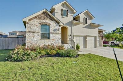 Leander Single Family Home For Sale: 2304 Citrine Cv