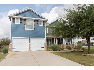 Hutto Single Family Home For Sale: 109 Wimberley St