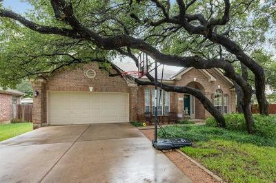 Cedar Park Single Family Home For Sale: 2307 Eleanor Way