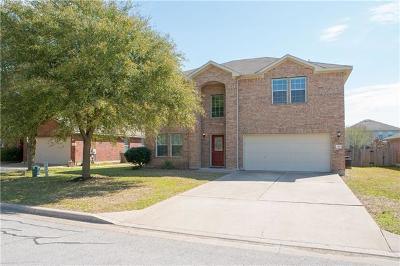 Hutto Single Family Home For Sale: 128 Inman Dr