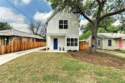 Austin Single Family Home For Sale: 5510 Woodrow Ave #1