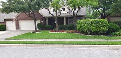 Round Rock Single Family Home For Sale: 2209 Buena Vista Ln