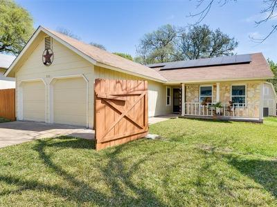 Travis County, Williamson County Single Family Home For Sale: 9723 Moorberry St