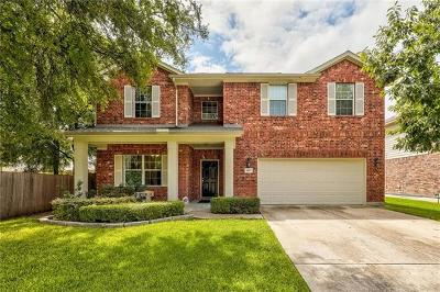 Round Rock Single Family Home For Sale: 1817 Creek Ledge Pl