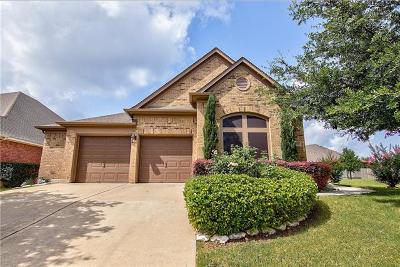 Leander Single Family Home For Sale: 2006 Cross Draw Trl