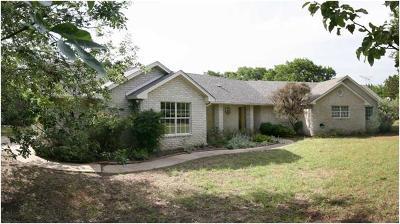 Lampasas County Single Family Home Pending - Taking Backups: 4088 Cr 1020