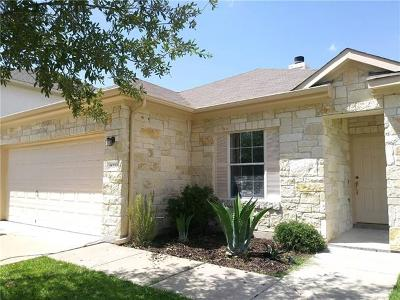 Manor Single Family Home Pending - Taking Backups: 18200 Skysail Dr