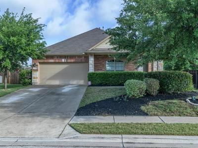 Round Rock Single Family Home For Sale: 1042 Hyde Park Dr
