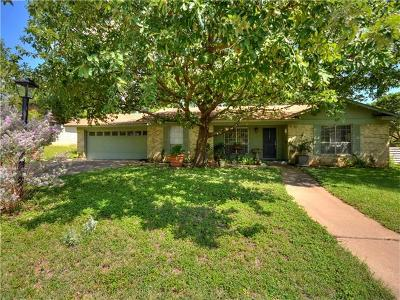 Travis County Single Family Home Pending - Taking Backups: 12306 Rolling Hill Dr