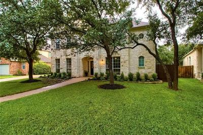 Round Rock Single Family Home Active Contingent: 3307 Texana Ct