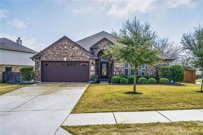Pflugerville Single Family Home For Sale: 19601 Maiden Grass Dr