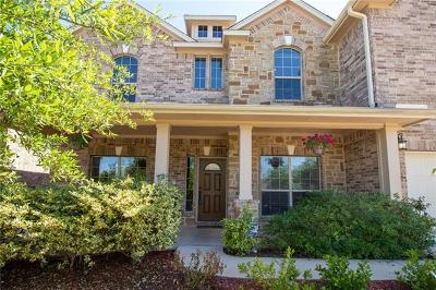 Round Rock Single Family Home For Sale: 120 Snowdrift Trl
