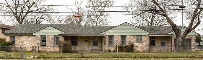 Killeen TX Single Family Home For Sale: $69,900