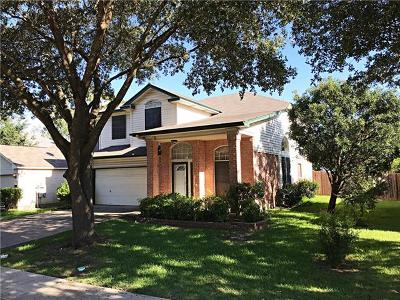 Austin Single Family Home For Sale: 3504 Texas Topaz Dr