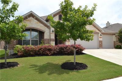 Leander Single Family Home For Sale: 1004 Arvada Dr