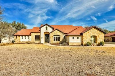 Salado Single Family Home For Sale: 1606 Trails End