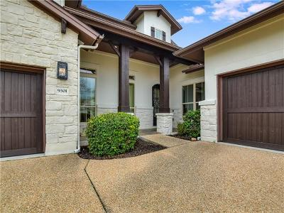 Austin Single Family Home For Sale: 9301 Travertine Cv