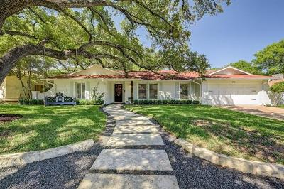 Austin Single Family Home Pending - Taking Backups: 4110 Burney Dr