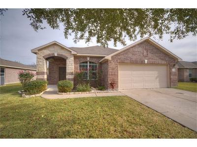 Hutto Single Family Home Pending - Taking Backups: 206 Legends Of Hutto Trl