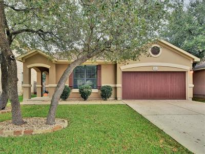 Cedar Park TX Single Family Home For Sale: $289,000