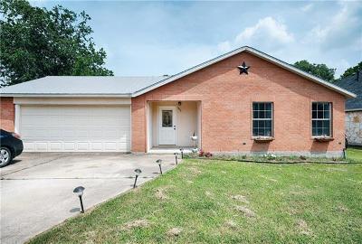 Elgin Single Family Home For Sale: 803 Savannah Cv