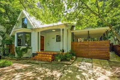 Hays County, Travis County, Williamson County Single Family Home Pending - Taking Backups: 1207 Alta Vista Ave