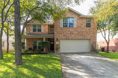 Round Rock Single Family Home For Sale: 1960 Creek Crest Way