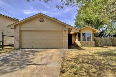 Pflugerville Single Family Home For Sale: 1213 Pitcairn Dr