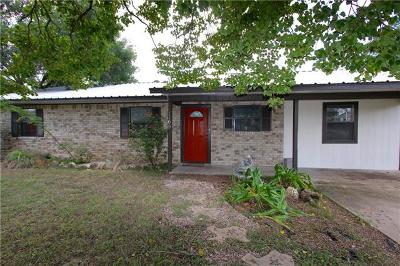 Marble Falls Single Family Home For Sale: 1108 Ash Dr