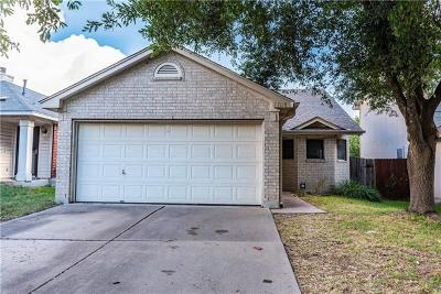 Pflugerville Single Family Home Pending - Taking Backups: 1708 Shire St