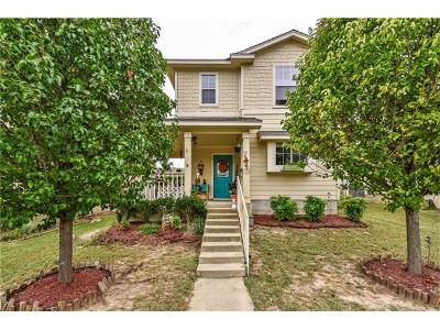 Pflugerville Single Family Home Pending - Taking Backups: 413 N Cascades Ave #1