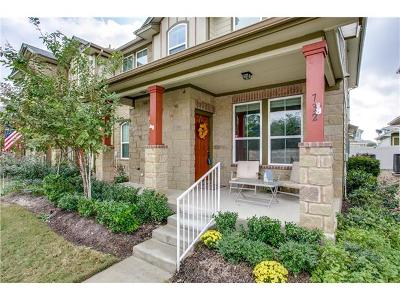 Cedar Park Condo/Townhouse For Sale: 732 Lost Pines Ln