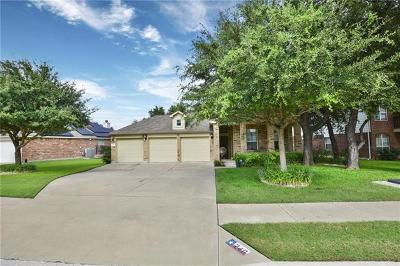 Leander  Single Family Home For Sale: 246 Hoot Owl Ln