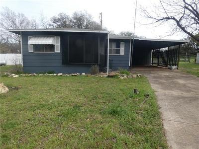 Burnet Single Family Home For Sale