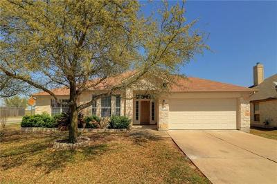 Pflugerville Single Family Home For Sale: 800 Abbeyglen Castle Dr