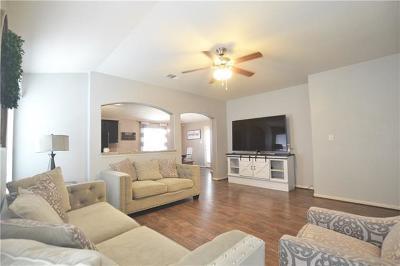 Del Valle Single Family Home Pending - Taking Backups: 12105 Stoney Meadow Dr