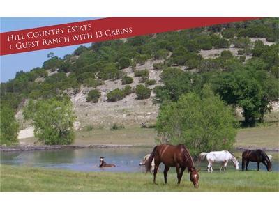 Farm For Sale: 9061 Bandera Creek #Land