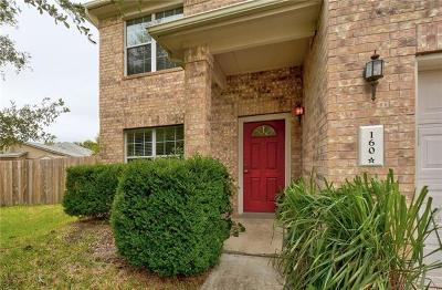 Kyle Single Family Home For Sale