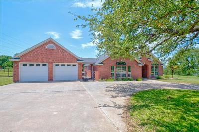 Marble Falls Single Family Home For Sale: 410 Gateway Pkwy