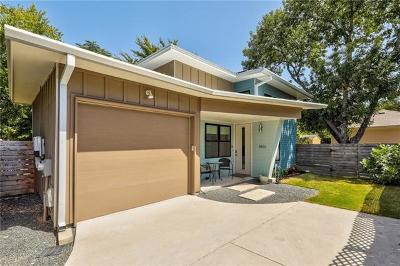 Travis County Single Family Home Pending - Taking Backups: 1406 North St #B