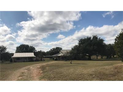 Burnet County Farm For Sale: 201 Flatrock Trail