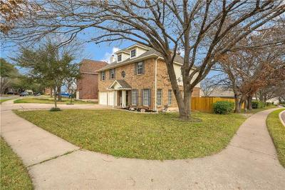 Round Rock Single Family Home Pending - Taking Backups: 1701 Pecos Valley Cv