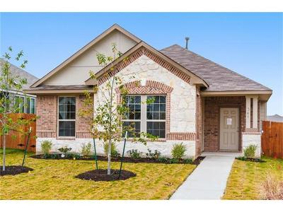 Leander Single Family Home For Sale: 341 South Brook Dr