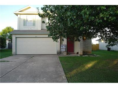 Leander Single Family Home For Sale: 602 Sparkling Brook Ln