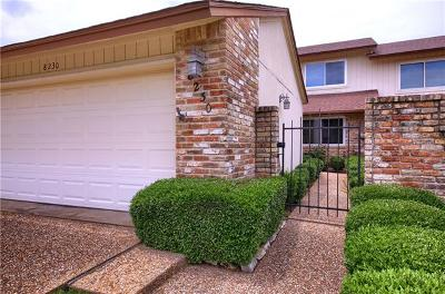 Austin Condo/Townhouse Active Contingent: 8230 Summer Side Dr
